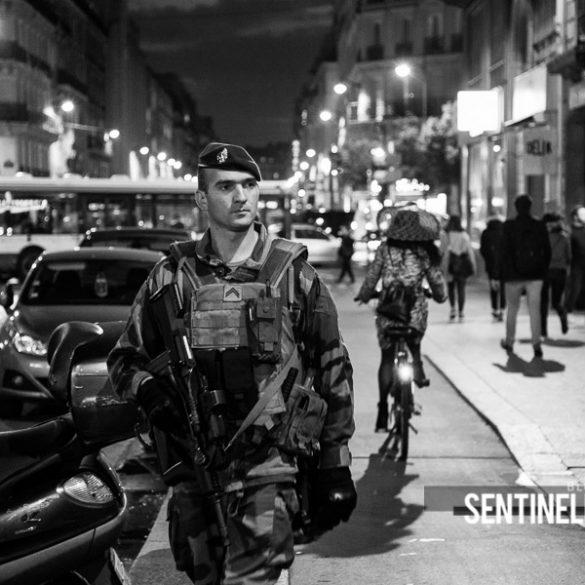 Patrouille Sentinelle de nuit