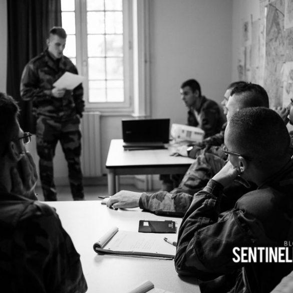 Militaires à l'instruction